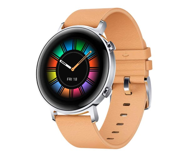HUAWEI WATCH GT 2 CLASSIC EDITION BEIGE 42MM SMARTWATCH TÁCTIL AMOLED 1.39'' GPS 5ATM