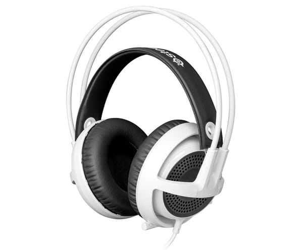 STEELSERIES SIBERIA V3 AURICULARES CON MICRO GAMING BLANCO