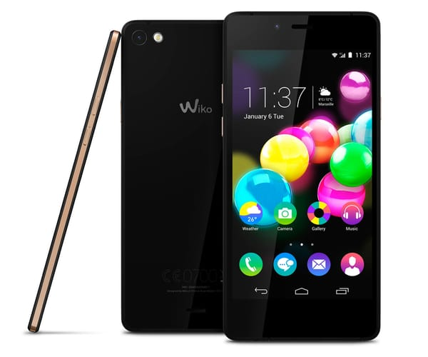 WIKO HIGHWAY PURE 4G TELEFÓNO MÓVIL 4.8'' GOLD