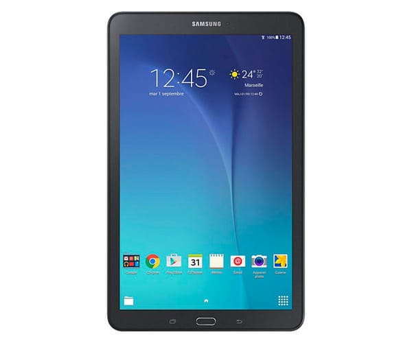 SAMSUNG SM-T560 GALAXY TAB E WIFI TABLET 9.6''/8GB/1.5GB RAM/5MP NEGRA
