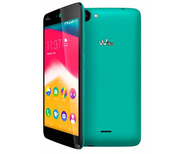 WIKO RAINBOW JAM TURQUESA MOVIL 5''  QC