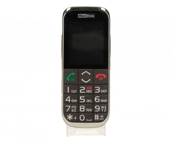 MAXCOM MM720 NEGRO MÓVIL 2.4'' BLUETOOTH