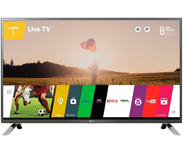 LG 32LF650V TELEVISOR LCD IPS LED 32'' FULL HD SMART TV WEBOS 2.0