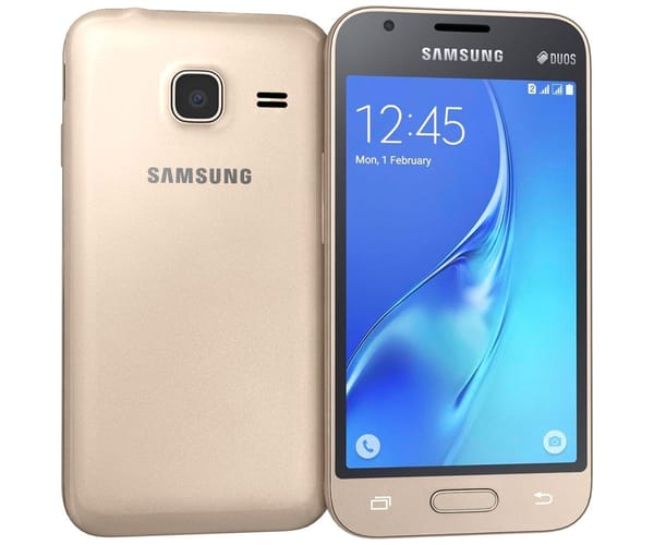 SAMSUNG GALAXY J1 MINI DORADO MÓVIL 3G DUAL SIM 4.0''/4CORE/8GB/768MB RAM/5MP/VGA