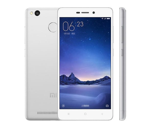 XIAOMI REDMI 3S (32+3) BLANCO/GRIS MÓVIL 4G DUAL SIM 5'' IPS/8CORE/32GB/3GB RAM/13MP/5MP
