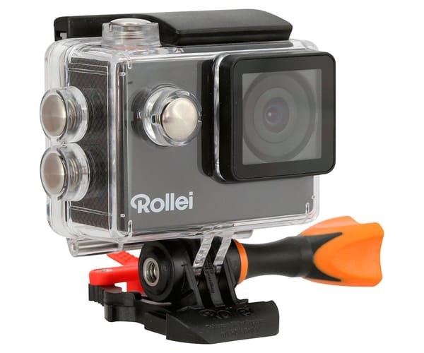 ROLLEI ACTIONCAM 300 PLUS CÁMARA DEPORTIVA FULL HD SUMERGIBLE 40 METROS
