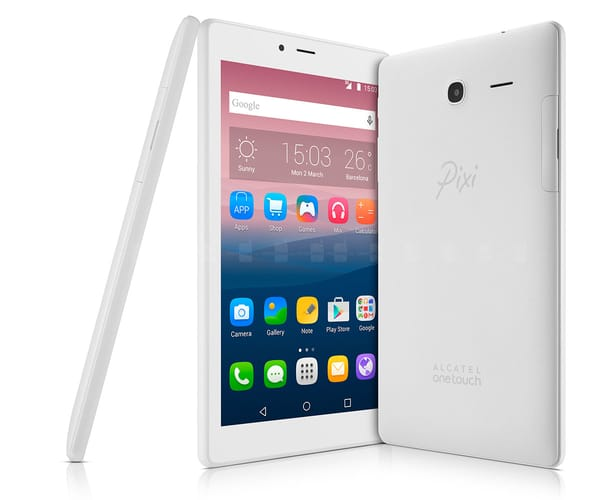 ALCATEL PIXI 4 (7) WIFI BLANCO TABLET 7''/4CORE/8GB/1GB RAM/2MP/VGA