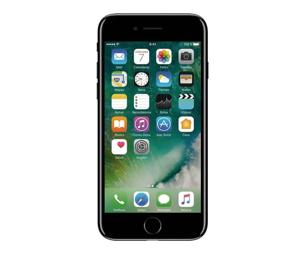 APPLE IPHONE 7 256GB NEGRO BRILLANTE MÓVIL 4G 4.7'' IPS/4CORE/256GB/2GB RAM/12MP OIS/7MP