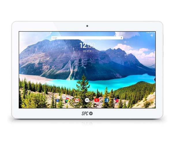 SPC GLOW TABLET BLANCA 10.6'' / WIFI / QUAD CORE / 16GB / 1GB RAM / 2MP