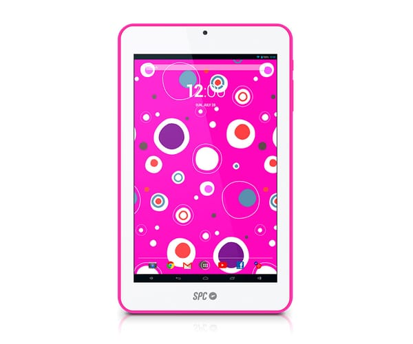 SPC GLOW TABLET ROSA 7'' / WIFI / QUAD CORE / 8GB / CÁMARA FRONTAL/ IDEAL PARA NIÑOS