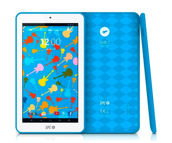 SPC GLOW TABLET AZUL 7'' / WIFI / QUAD CORE / 8GB / CÁMARA FRONTAL / IDEAL PARA NIÑOS