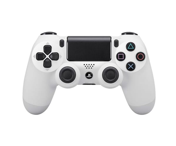SONY DUALSHOCK PS4 2016 BLANCO MANDO INALÁMBRICO PS4