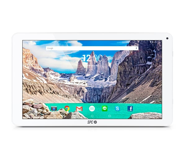 SPC GLOW BLANCO TABLET WIFI 10.1'' IPS HD/4CORE/16GB/1GB/2MP