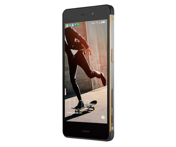 HISENSE C30 ROCK NEGRO MÓVIL ULTRARRESISTENTE 4G DUAL SIM 5.2'' IPS/ 8CORE/ 32GB/ 3GB RAM/ 16MP/ 5MP