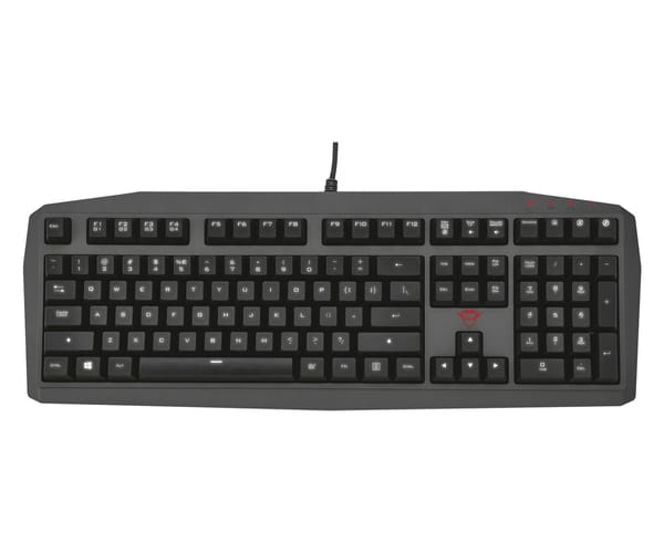 TRUST GXT 880 TECLADO MECÁNICO GAMING