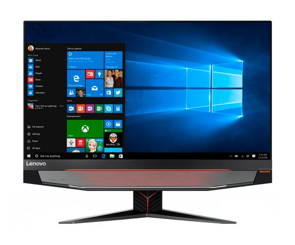 LENOVO IDEACENTRE AIO Y910 PC TODO-EN-UNO GAMING 27'' IPS QHD/i7 3.40GHz/2TB+SSD 256GB/32GB RAM/GTX 1080 8GB/W10 HOME