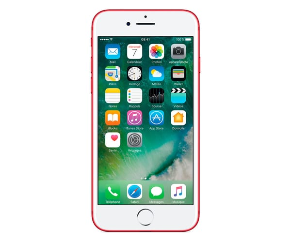 APPLE IPHONE 7 128GB ROJO MPRL2ZD/A MÓVIL 4G 4.7'' IPS/4CORE/128GB/2GB RAM/12MP OIS/7MP
