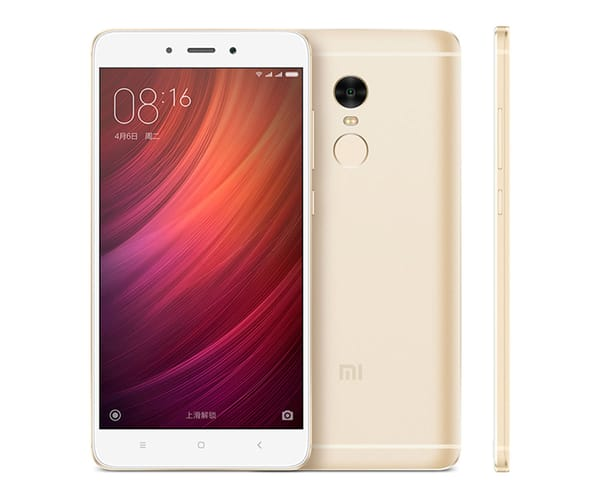 XIAOMI REDMI NOTE 4 DORADO MÓVIL 4G DUAL SIM 5.5'' IPS FHD/8CORE/32GB/3GB RAM/13MP/5MP