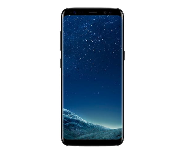 SAMSUNG GALAXY S8 NEGRO MÓVIL 4G 5.8'' SAMOLED QHD+/8CORE/64GB/4GB RAM/12MP/8MP