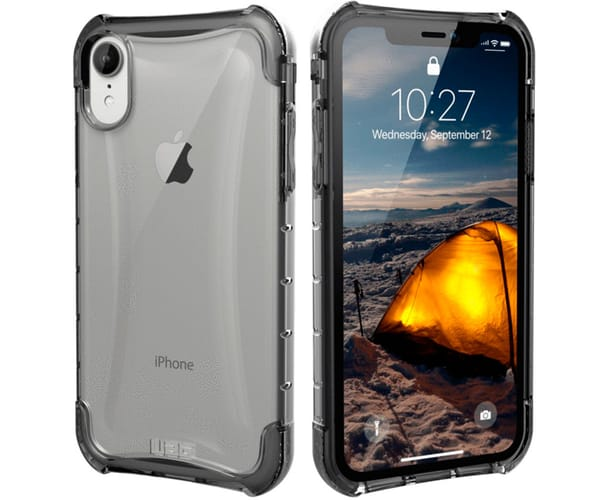 UAG PLYO CARCASA APPLE IPHONE XR TRANSPARENTE RESISTENTE