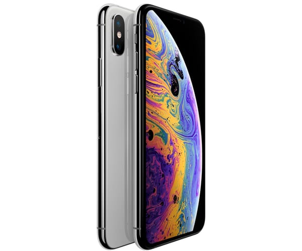 APPLE IPHONE XS MAX 256GB PLATA MÓVIL 4G 6.5'' SUPER RETINA HD OLED HDR/6CORE/256GB/4GB RAM/12MP+12MP/7MP