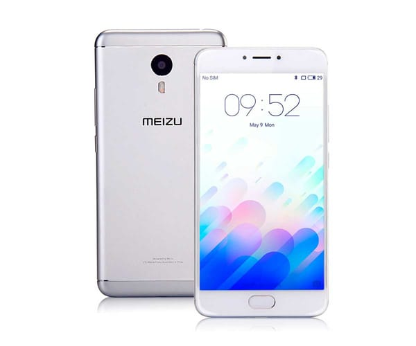MEIZU M3 NOTE 16GB BLANCO PLATA MÓVIL DUAL SIM 4G 5.5'' IPS/8CORE/16GB/2GB RAM/13MP/5MP