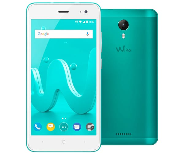 WIKO JERRY2 BLEEN MÓVIL DUAL SIM 3G 5'' IPS/4CORE/16GB/1GB RAM/5MP/5MP