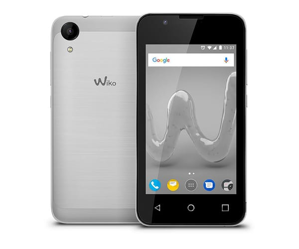 WIKO SUNNY2 PLATA MÓVIL DUAL SIM 3G 4''/4CORE/8GB/512MB RAM/5MP/2MP