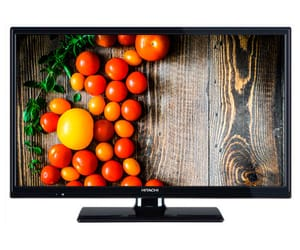 HITACHI 24HB4C05 TELEVISOR 24'' LCD LED HD READY HDMI VGA USB  REPRODUCTOR MULTIMEDIA