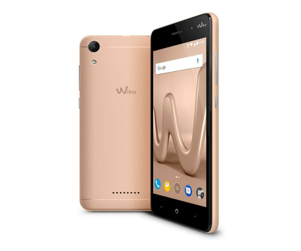 WIKO LENNY4 DORADO MÓVIL 3G DUAL SIM 5'' IPS HD/4CORE/16GB/2GB RAM/8MP/5MP