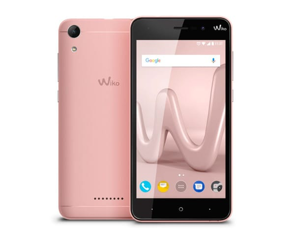 WIKO LENNY4 ORO ROSA MÓVIL 3G DUAL SIM 5'' IPS HD/4CORE/16GB/2GB RAM/8MP/5MP