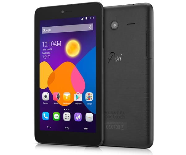 ALCATEL PIXI 3 (7)+ NEGRO TABLET WIFI 7'' TFT/4CORE/16GB/1GB RAM/5MP/2MP
