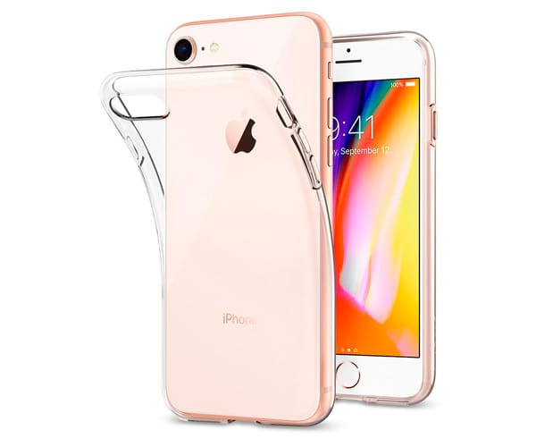 JC CARCASA TRANSPARENTE APPLE IPHONE 7/8