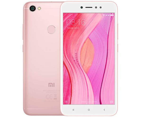 XIAOMI REDMI NOTE 5A PRIME ORO ROSA MÓVIL 4G DUAL SIM 5.5'' IPS HD/8CORE/32GB/3GB RAM/13MP/16MP