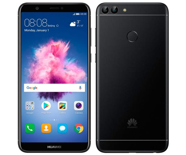 HUAWEI P SMART NEGRO MÓVIL 4G DUAL SIM 5.65'' IPS FHD+/8CORE/32GB/3GB RAM/13MP+2MP/8MP