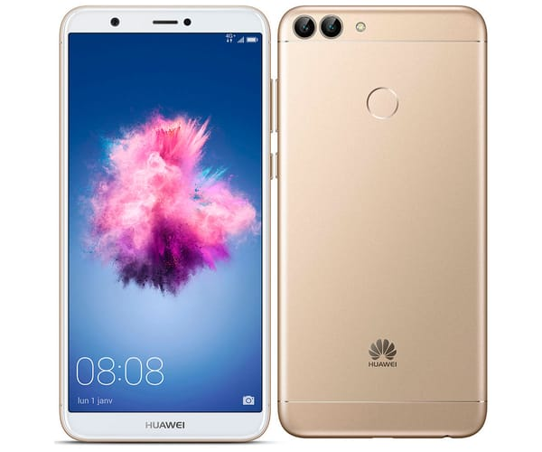 HUAWEI P SMART DORADO MÓVIL 4G DUAL SIM 5.65'' IPS FHD+/8CORE/32GB/3GB RAM/13MP+2MP/8MP