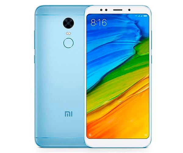 XIAOMI REDMI 5 PLUS AZUL MÓVIL 4G DUAL SIM 5.99'' IPS FHD+/8CORE/32GB/3GB RAM/12MP/5MP