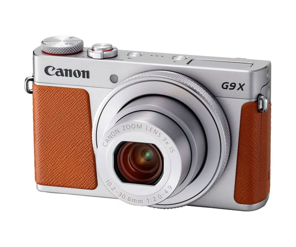 CANON POWERSHOT G9 X MARK II PLATA CÁMARA COMPACTA 20.2MP DIGIC 7 WIFI NFC FULL HD ESTABILIZADOR ÓPTICO