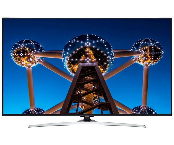 HITACHI 55HL15W69 TELEVISOR 55'' LCD LED UHD 4K HDR 1800Hz SMART TV WIFI BLUETOOTH LAN HDMI USB REPRODUCTOR MULTIMEDIA