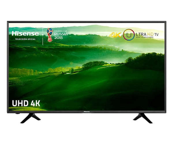 HISENSE H55N5300 TELEVISOR 55'' LCD DIRECT LED UHD 4K 1000Hz SMART TV WIFI LAN HDMI USB REPRODUCTOR MULTIMEDIA