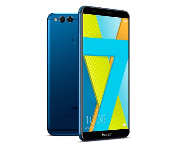 HONOR 7X AZUL MÓVIL 4G DUAL SIM 5.93'' IPS FHD+/8CORE/64GB/4GB RAM/16MP+2MP/8MP