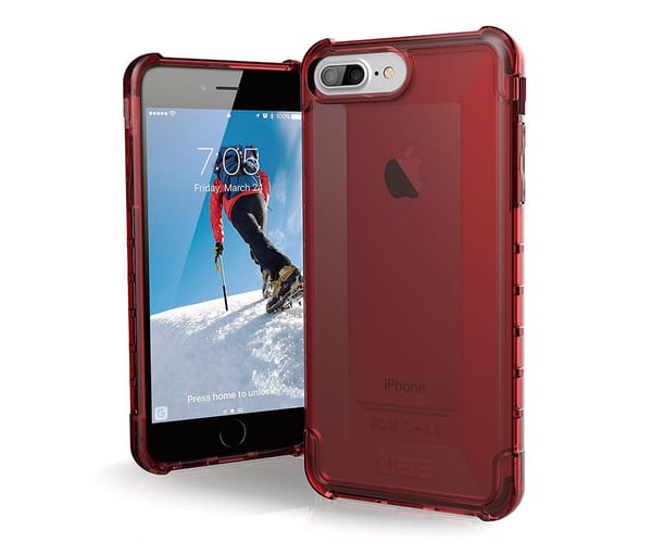 URBAN ARMOR GEAR CARCASA IPHONE 8/7 PLUS ROJO RESISTENTE