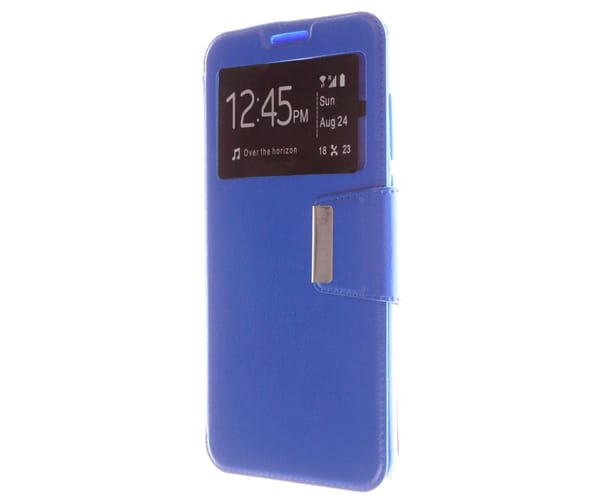 JC FUNDA TIPO LIBRO AZUL REDMI 5 PLUS
