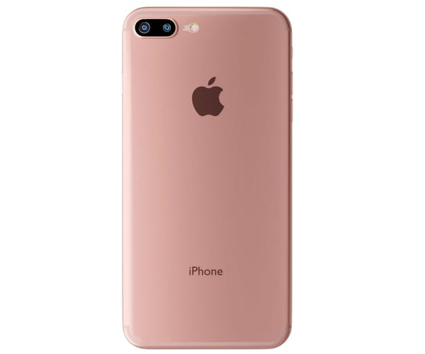 3MK NATURALCASE ROSA CARCASA TRASERA APPLE IPHONE 7 PLUS DE ALTA CALIDAD