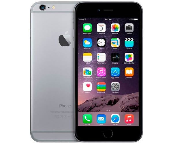 APPLE IPHONE 6 PLUS 128GB GRIS ESPACIAL REACONDICIONADO CPO MÓVIL 4G 5.5'' RETINA FHD/2CORE/64GB/1GB RAM/8MP/1.2MP