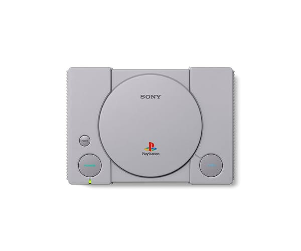 SONY PLAYSTATION CLASSIC PS1 ORIGINAL CON 20 JUEGOS HDMI DOS MANDOS