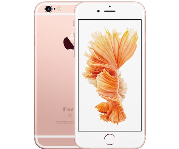 APPLE IPHONE 6S PLUS 64GB ORO ROSA REACONDICIONADO CPO MÓVIL 4G 5.5'' RETINA FHD/2CORE/64GB/2GB RAM/12MP/5MP