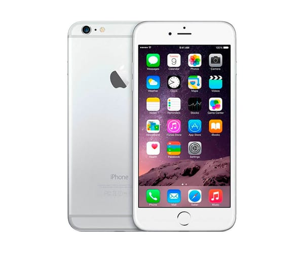 APPLE IPHONE 6 128GB PLATA REACONDICIONADO CPO MÓVIL 4G 4.7'' RETINA HD/2CORE/128GB/1GB RAM/8MP/1.2MP