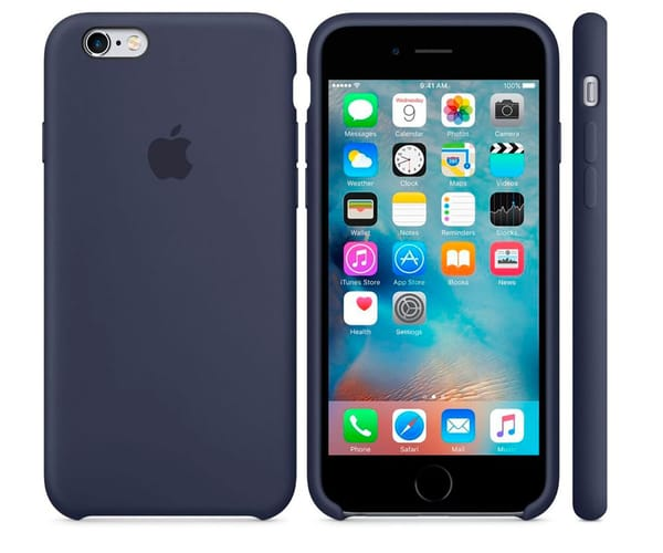 APPLE MKXL2ZM/A AZUL MEDIANOCHE CARCASA DE SILICONA IPHONE 6S PLUS/ 6 PLUS