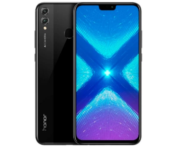 HONOR 8X NEGRO MÓVIL 4G DUAL SIM 6.5'' IPS FHD/8CORE/128GB/4GB RAM/20+2MP/16MP